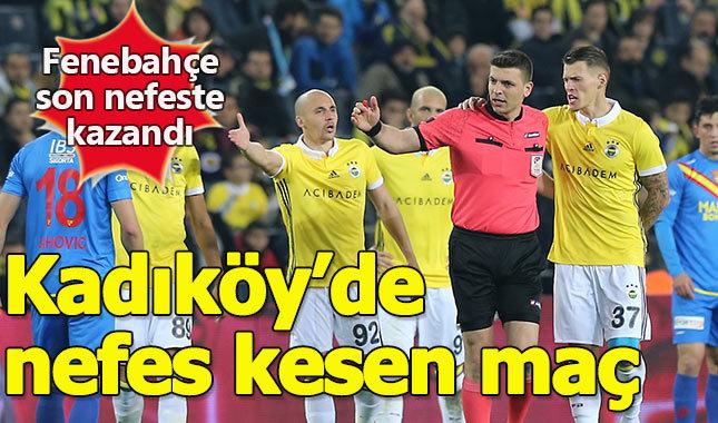 Fenerbahçe 2-1 Göztepe A.Ş. maçın özeti ve golleri