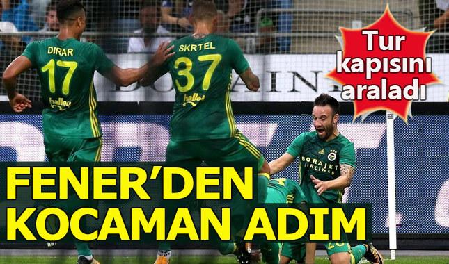 Fenerbahçe tur kapısını araladı / Sturm Graz 1-2 Fenerbahçe Maç Özeti