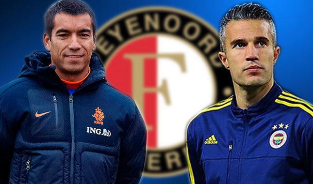 Feyenoord, van Persie'nin peşinde