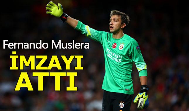 Galatasaray Muslera'nın sözleşmesini uzattı