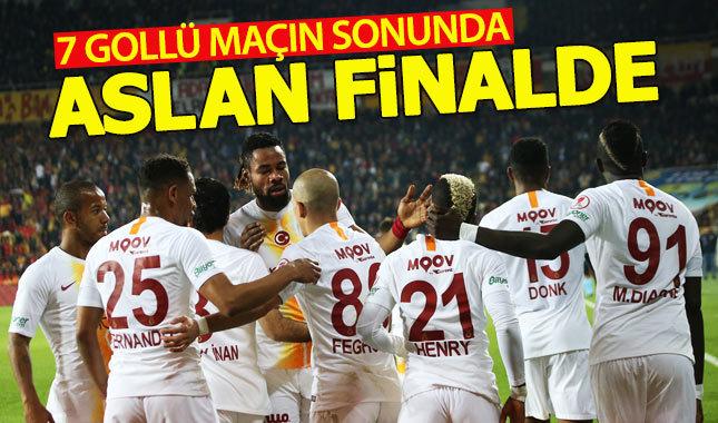 Galatasaray kupada finale yükseldi