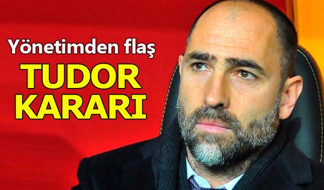Galatasaray'da Igor Tudor ve Mircea Lucescu formülü