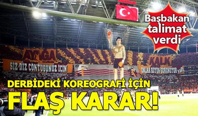 Galatasaray-Fenerbahçe ultraslan 'Ayağa Kalk' koreografisi - Fethullah Gülen'in 'Ayağa Kalk' konuşması