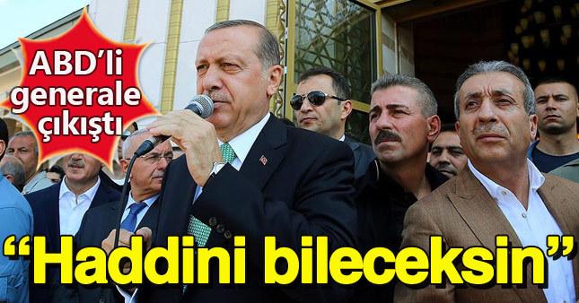 Gölbaşı'na giden Cumhurbaşkanı Erdoğan ABD'yi eleştirdi