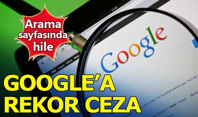 Google'ın arama hilesine tarihi ceza!
