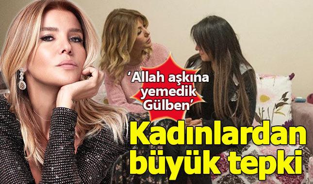 Gülben Ergen'in destek paylaşımı kadınların tepkisini çekti