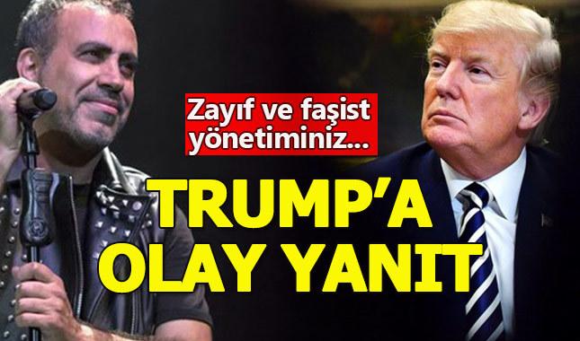 Haluk Levent'in Trump'a yanıtı sosyal medyayı salladı