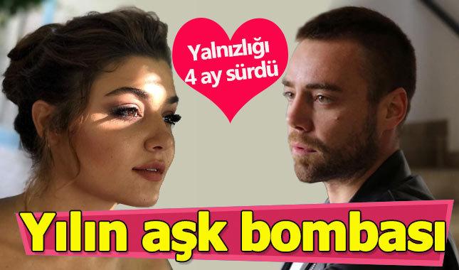 Hande Erçel ile Murat Dalkılıç aşk yaşıyor