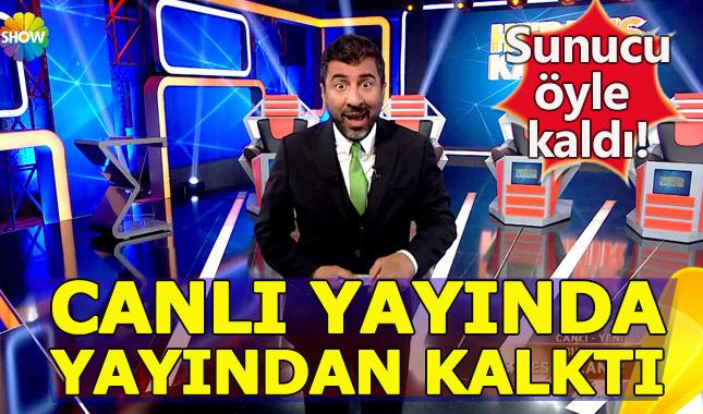 'Herkes Kazanır' canlı yayında, yayından kaldırıldı!