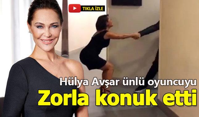 Hülya Avşar ünlü oyuncuyu zorla konuk etti