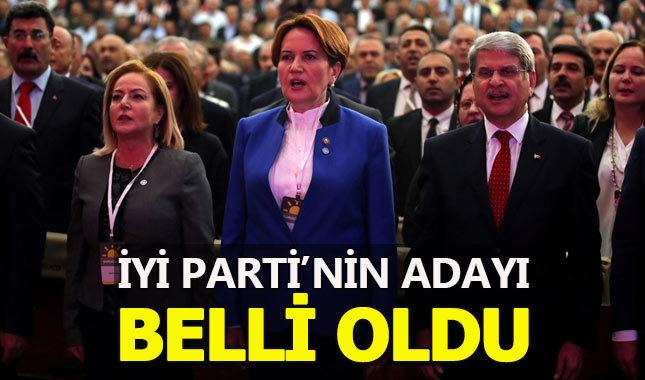 İYİ Parti'nin cumhurbaşkanı adayı belli oldu