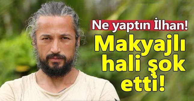 İlhan Mansız'ın makyajlı fotoğrafı sosyal medyayı yıktı!