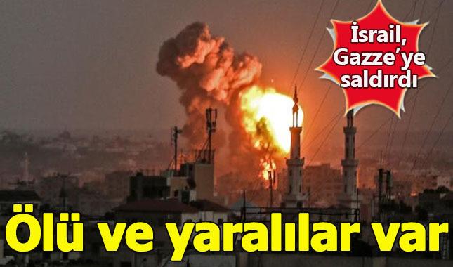 İsrail, Gazze'yi savaş uçakları, tankları ve toplarıyla vuruyor!