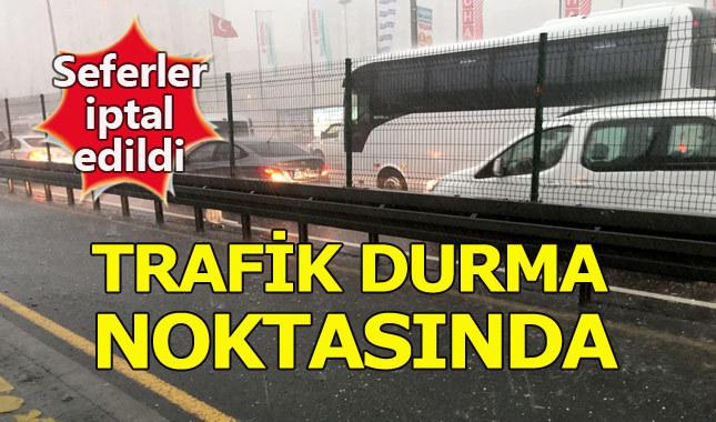 İstanbul uçak metro tramvay marmaray feribot seferleri yapılıyor mu? Ulaşımda son durum
