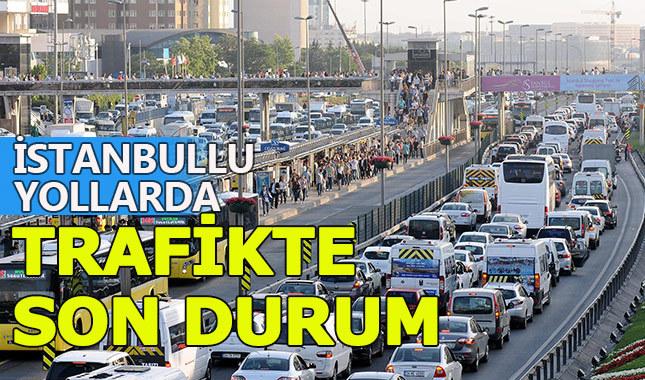 İstanbul'da köprü ve yollarda son durum
