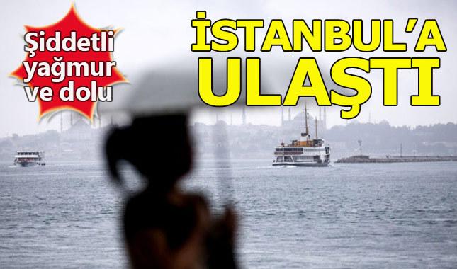 İstanbul'da yağmur başladı - Yağmur saat kaça kadar sürecek ne zaman duracak?