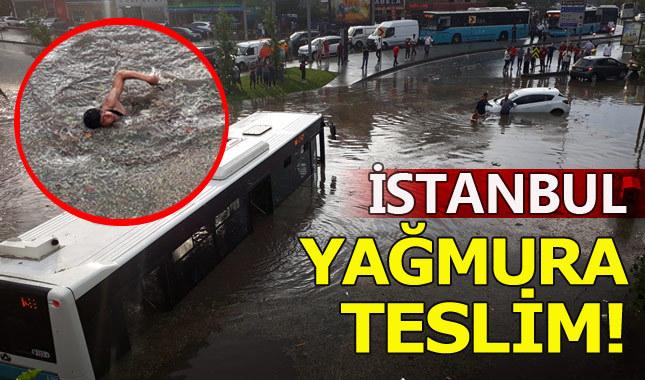 İstanbul'da yağmur ne zamana kadar sürecek yağmur saat kaçta duracak? Meteoroloji açıkladı