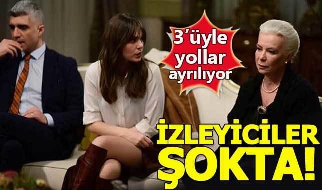İstanbullu Gelin dizisinde 3 oyuncu ayrılıyor