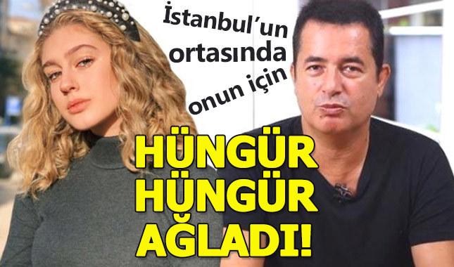Itır Esen, İstanbul'un göbeğinde hüngür hüngür ağladı
