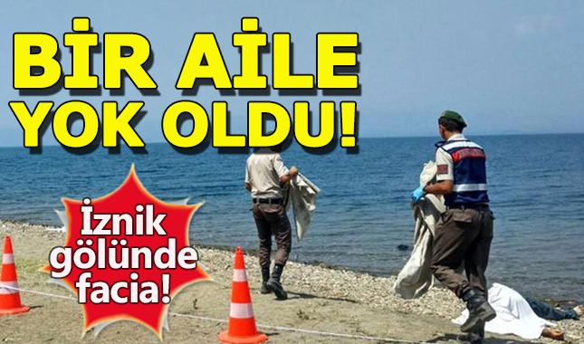 İznik Gölü'nde 4 kişi boğuldu