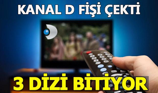 Kanal D'nin 3 dizisi final yapıyor