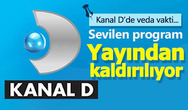 Kanal D'nin sevilen programı yayından kaldırılıyor