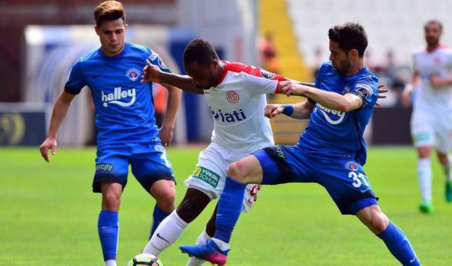 Kasımpaşa: 0 - Antalyaspor: 3 maç sonucu