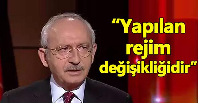 Kemal Kılıçdaroğlu'ndan başkanlık tepkisi