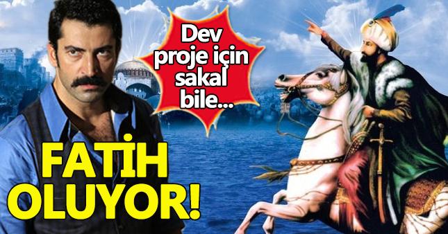 Kenan İmirzalıoğlu 'Fatih Sultan Mehmet' için sakal bıraktı