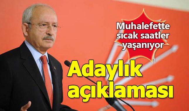 Kılıçdaroğlu'ndan adaylık sinyali: Partim karar verir