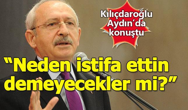 Kılıçdaroğlu'ndan istifa eden belediye başkanları açıklaması
