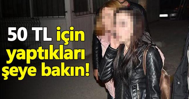 Konya'da gece yarısı fuhuş operasyonu