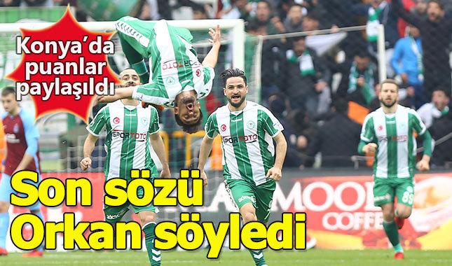 Konyaspor 2-2 Trabzonspor maçın özet görüntüleri