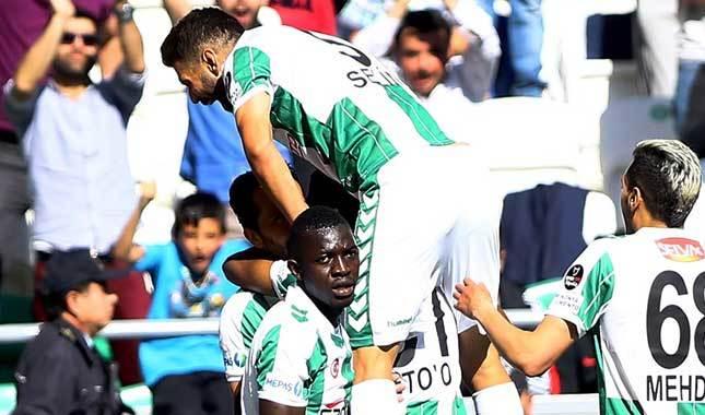 Konyaspor'a golcüleri hayat verdi