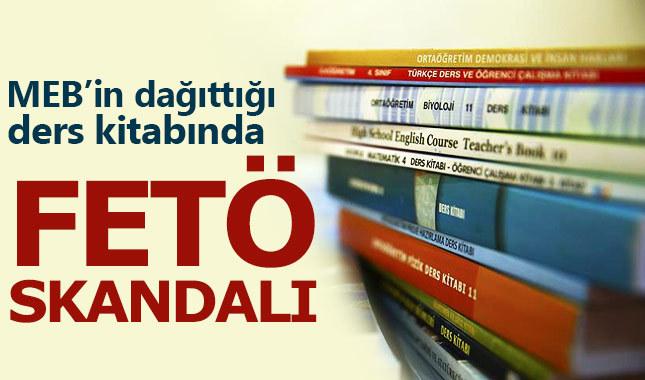 MEB'de skandal! Ders kitabında FETÖ propagandası