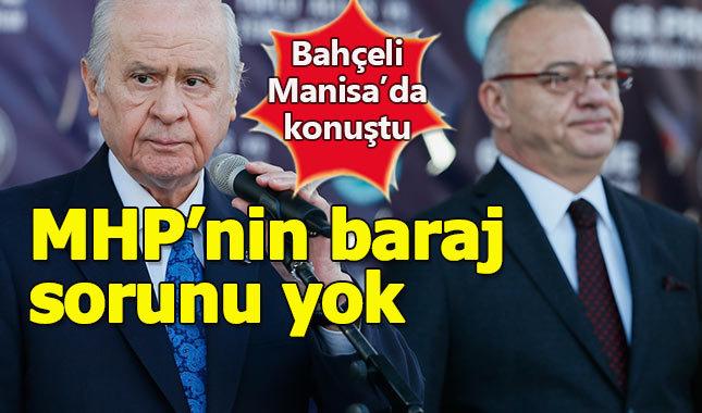 MHP lideri Bahçeli: Bizim baraj sorunumuz yok