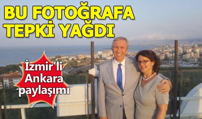 Mansur Yavaş'ın İzmir fotoğraflı Ankara paylaşımı!