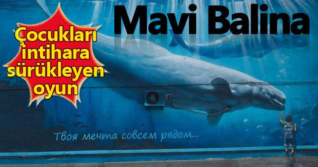 Mavi Balina oyunu çocukları intihara sürüklüyor