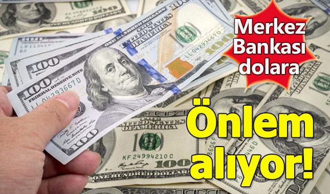 Merkez Bankası'ndan krtik dolar hamlesi