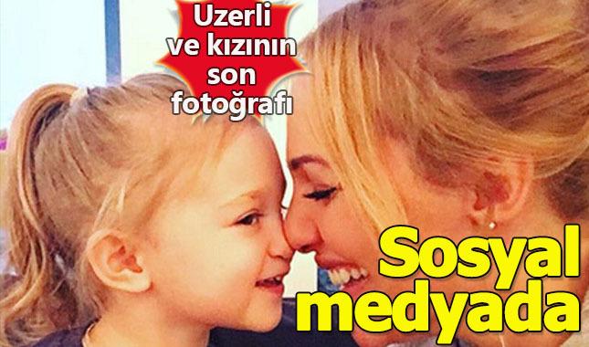 Meryem Uzerli ve kızı Lara'nın şirin fotoğrafı
