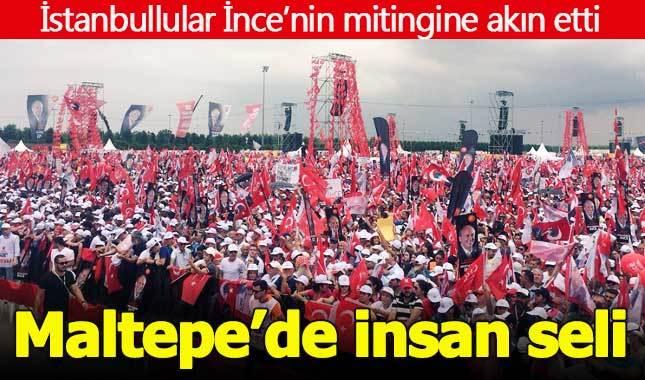 Muharrem İnce İstanbul Maltepe mitingine kaç kişi katıldı?