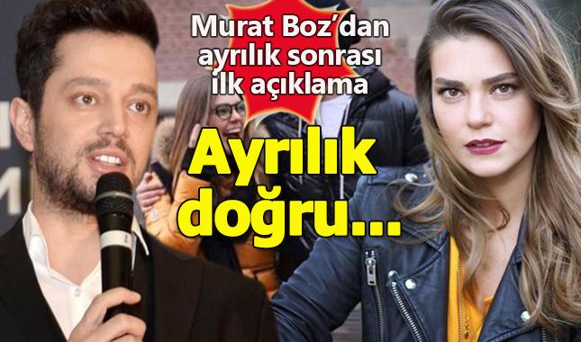 Murat Boz'dan Aslı Enver ile ayrılık açıklaması