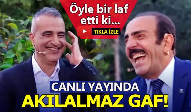 Mustafa Keser'den canlı yayında güldüren gaf