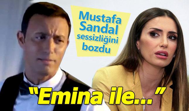 Mustafa Sandal sessizliğini bozdu