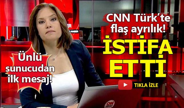 Nevşin Mengü CNN Türk'ten istifa etti - İşte ilk açıklaması
