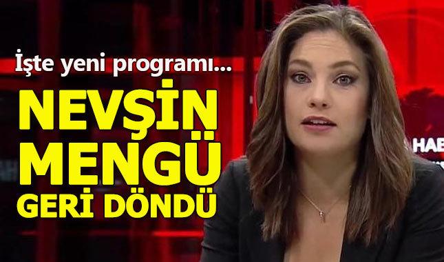 Nevşin Mengü'den yeni program! Nevşin Mengü kimdir?