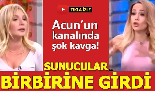 Nur Tuğba Algül ile Seda Akgül canlı yayında birbirine girdi