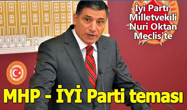 Nuri Okutan, İyi Parti adına Meclis'te ilk konuşan milletvekili oldu