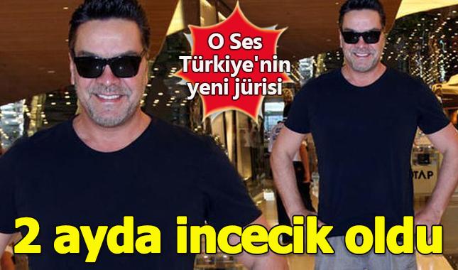 O Ses Türkiye'nin yeni jürisi Beyazıt Öztürk 2.5 ayda 12 kilo verdi