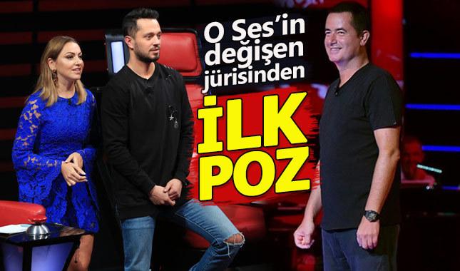 O Ses Türkiye'nin yeni jürisinden ilk poz geldi